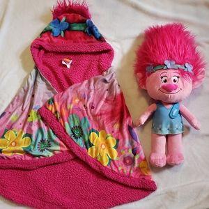 Poppy Character from Trolls Blanket